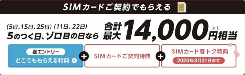 Y!mobile SIM PayPayキャンペーン