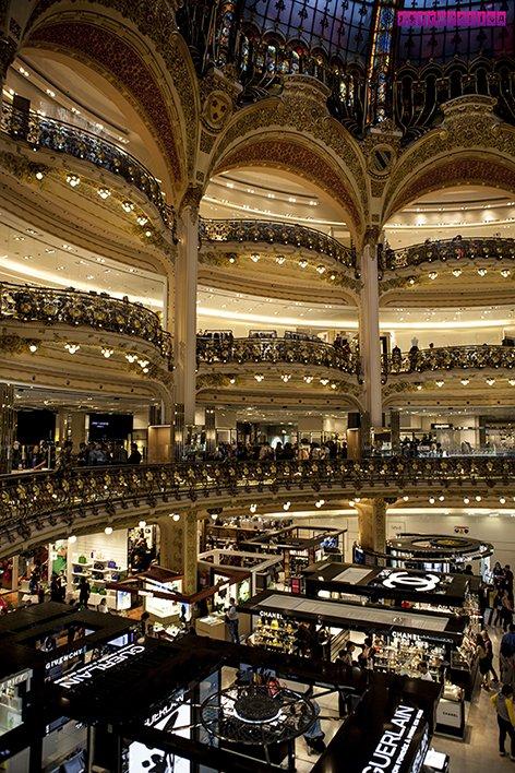 Galeries-Lafayette-arquitetura-paris