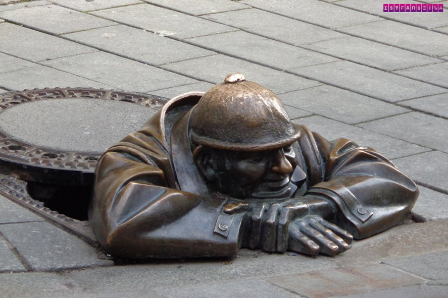 estatua-cumil-bratislava-eslovaquia