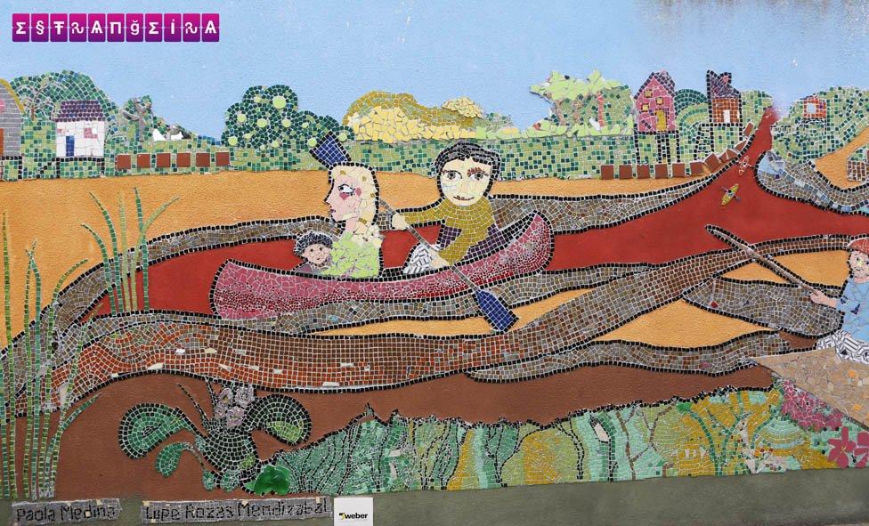Mural em Tigre.