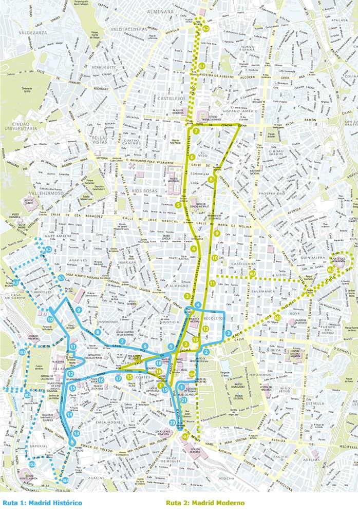 mapa madrid bus