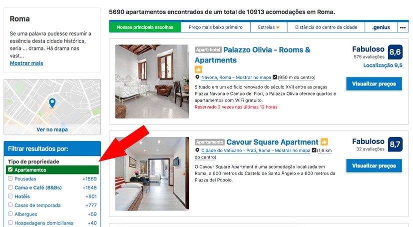 como-reservar-apartamento-no-booking-com-pesquisar