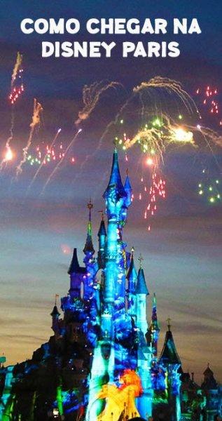Como chegar na Disney Paris