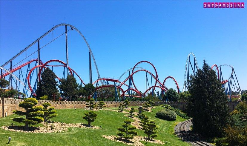 port-aventura-ferrari-land-parques-de-diversoes-barcelona-montanha-russa-shambhala