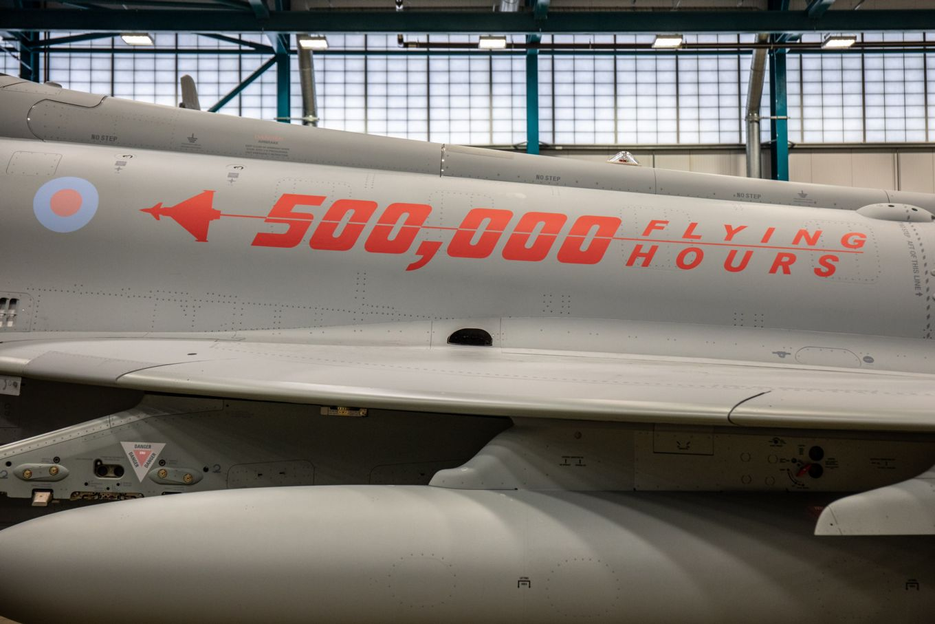 Typhoon 500,000hrs Flown