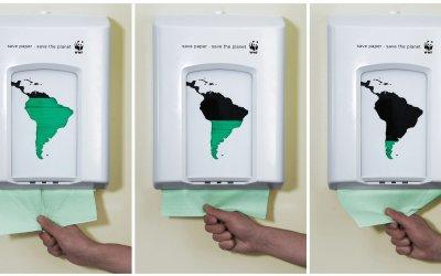 Ahorre papel. Salve el planeta.