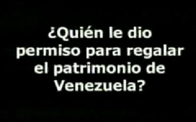 Y los Venezolanos? – Rosales