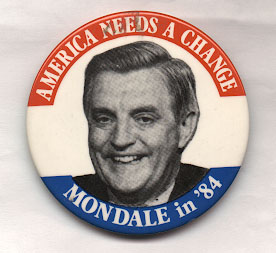 América necesita un Cambio – Mondale