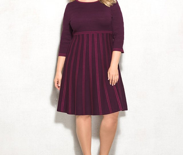 Plus Size Sweater Dress Dressbarn Estrella Fashion Report