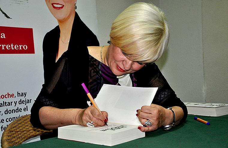 he venido a hablar de mi libro Estrella Flores-Carretero