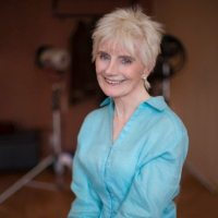 """Kay D'Arcy, 82-year old martial arts action hero, and the star of """"Agent 88"""""""