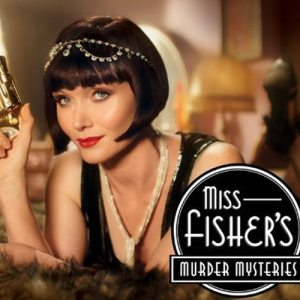 Miss Fisher's Murder Mysteries -- and an Adventure Diva double standard.