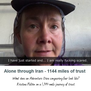What does an Adventure Diva conquering fear look like? Kristina Paltén on a 1,144-mile journey of trust.