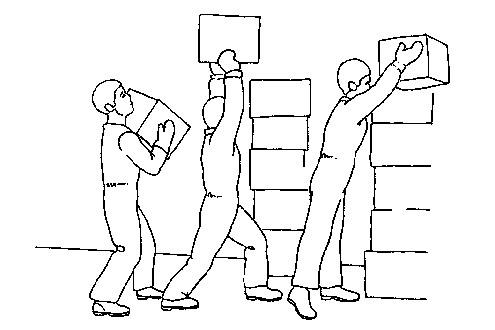 Cómo levantar y llevar cargas correctamente