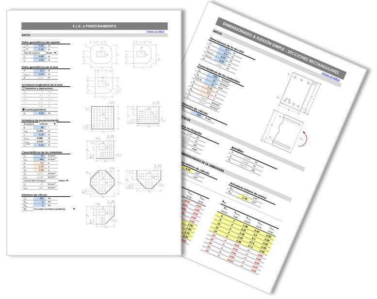 Clube do Concreto: Planilhas do Excel para o projeto de