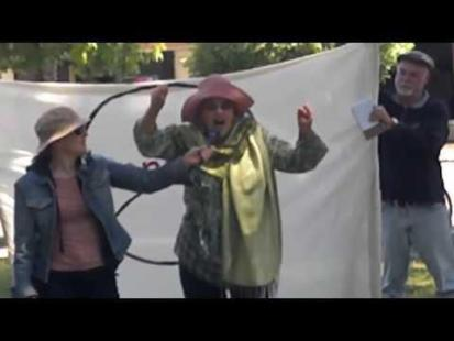 Stop Monsanto March and Poem by Nina Serrano