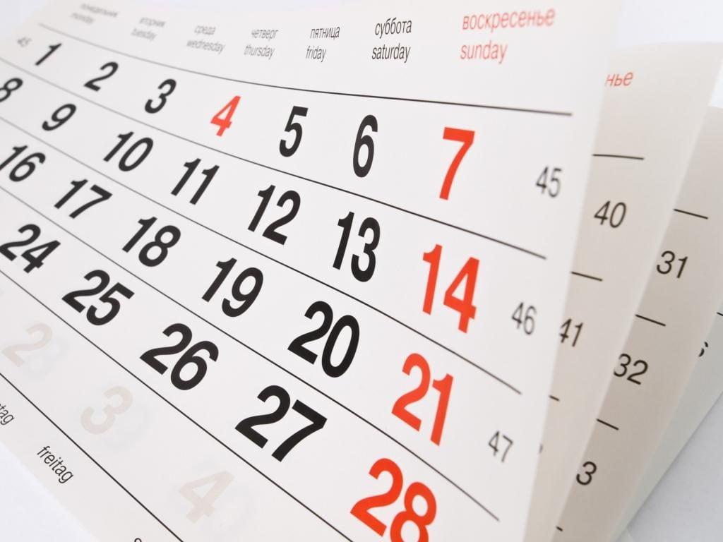 0530e77fe7893 Os Meses Do Ano Em Inglês Aprenda Em 3 Passos