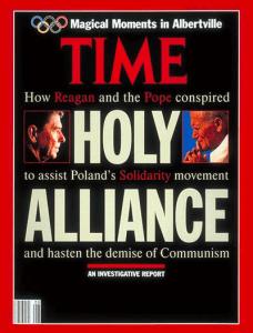 Portada del Time Magazine: Alinza