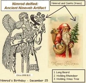 Nimrod y Papa Noel