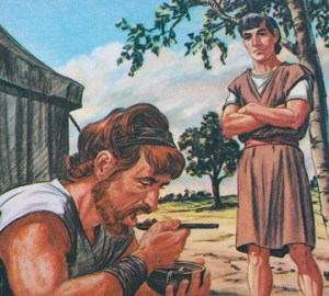 Esaú vende su primogenitura