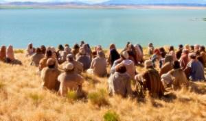 Cristo impartiendo una educación superior a la del mundo.