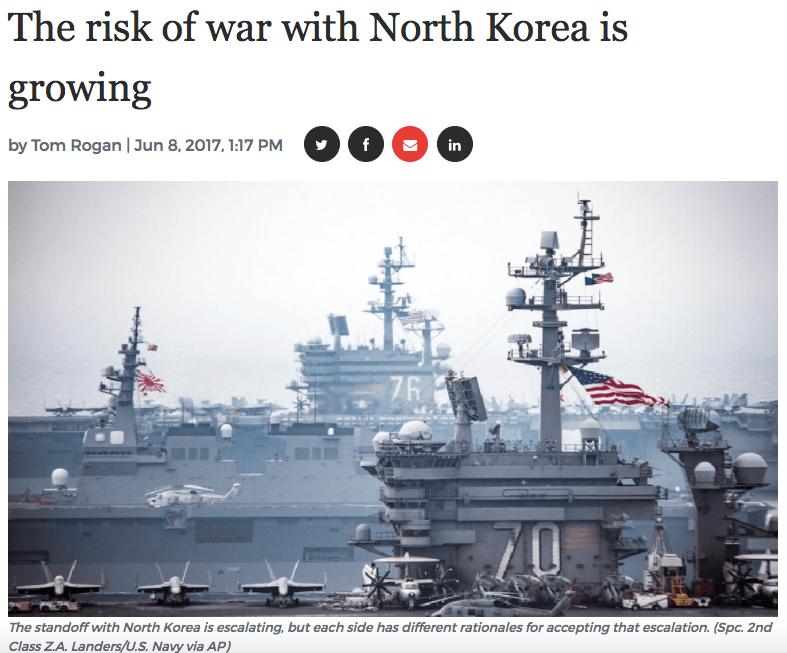 NK-war-risk