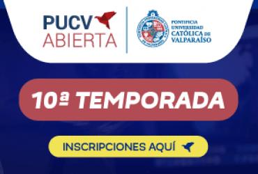 PUCV Abierta inicia su 10ª temporada de cursos virtuales con cuatro nuevas ofertas