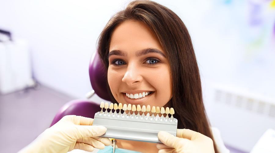 Elegir el color de los dientes