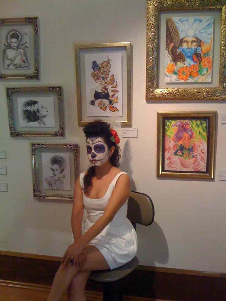 el lado femenino del arte