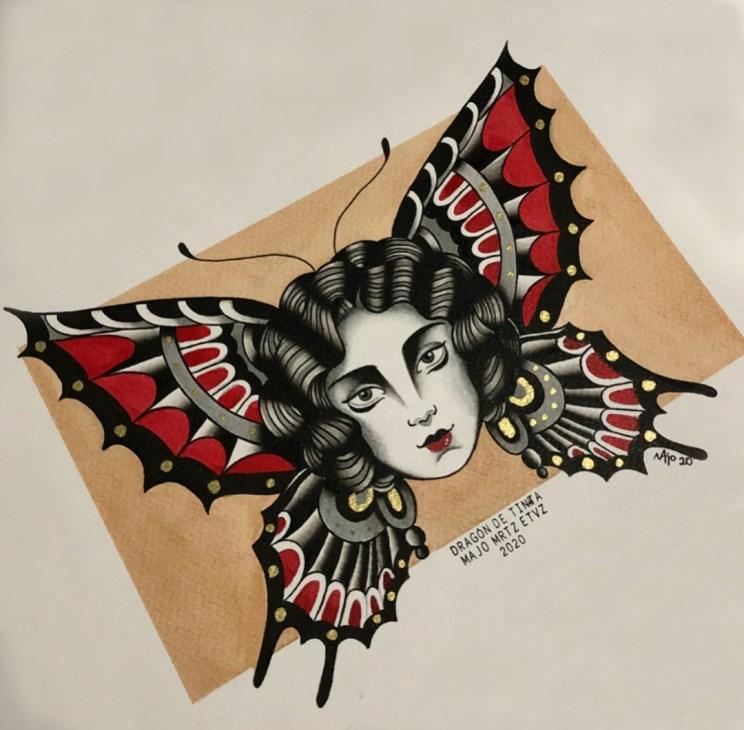 Tatuadora: Majo