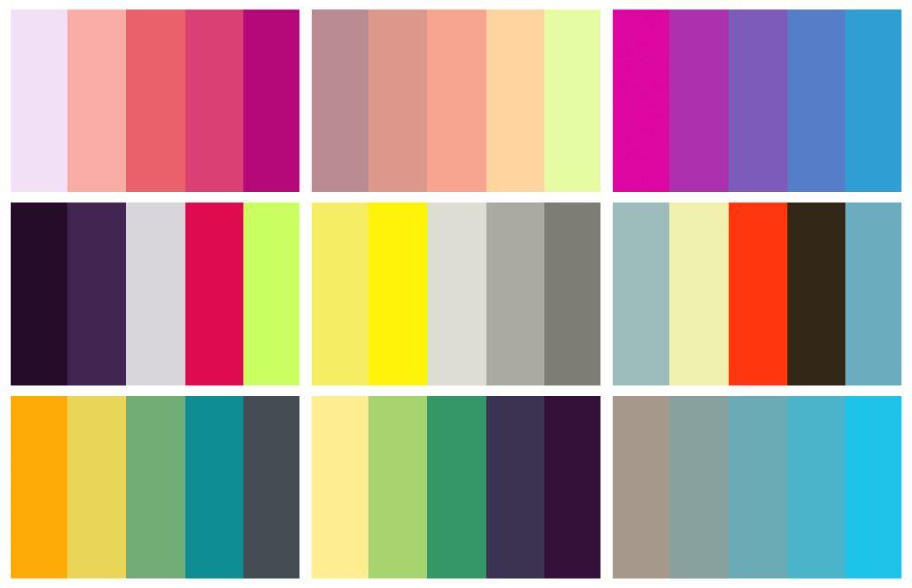Recursos Paletas de Colores  Estudioka  Diseo grfico y web Barcelona