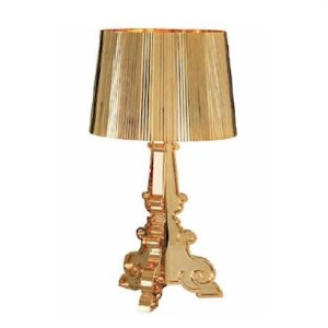 bourgie table lamp gold plated