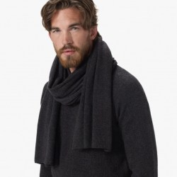 James Perse Cashmere Scarf Side, $295
