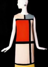 Yves Saint Laurent Retrospective the Mondrian Dress