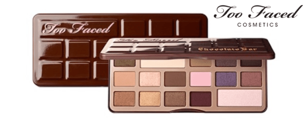 too faced chocolate bar eyeshadow palette, $49