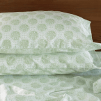 Coyuchi Lattice Collection Sand Dollar Sheet Set King, $348; Queen, $298