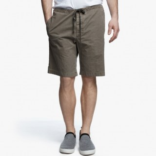 James Perse Stretch Poplin Short Platoon, $175