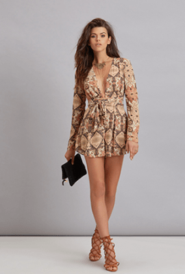 Mandala Romper by Bec&Bridge, $280