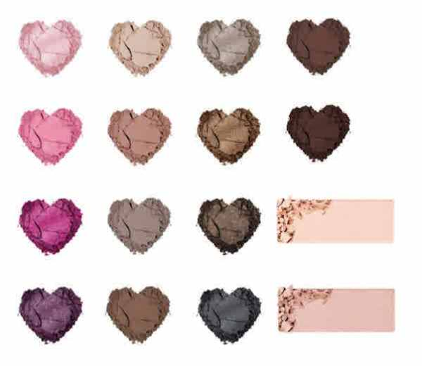 Too Faced Chocolate Bon Bon Eyeshadow Collection Swatches