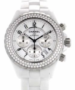 CHANEL Ceramic Women's Chrono J12 H1008, $12,775 from $19,500