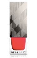 Burberry Beauty Nail Polish Bright Coral Red, $22