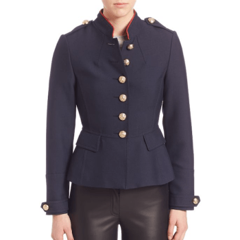 Burberry Huntingdale Fitted Regimental Jacket