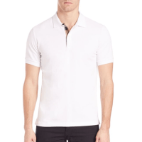 Burberry Oxford Polo White, $175