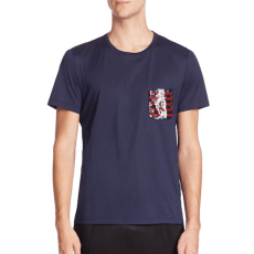 Burberry Sequined Pocket Tee, $395