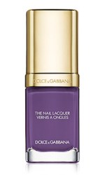 Dolce & Gabbana Nail Lacquer Violet, $27