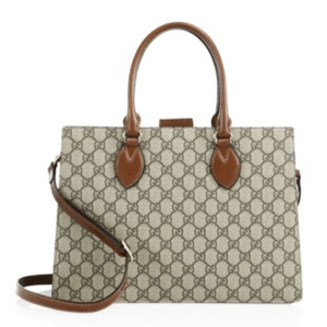 Gucci Leather Crossbody Tote, $2,290