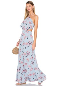 House of Harlow 1960 X Revolve Zoe Halter Maxi Dress, $218