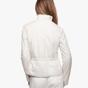 James Perse Brushed Italian Cotton Jacket Vintage Back, $395