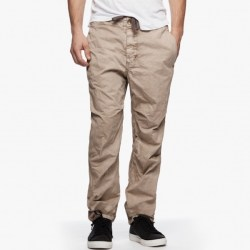 James Perse Clean Twill Mountaineering Pant Sandstorm Pigment, $245