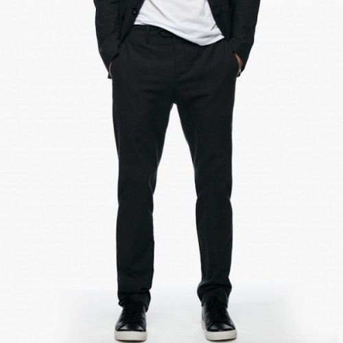 James Perse Plain Weave Cloth Suit Pant, $325